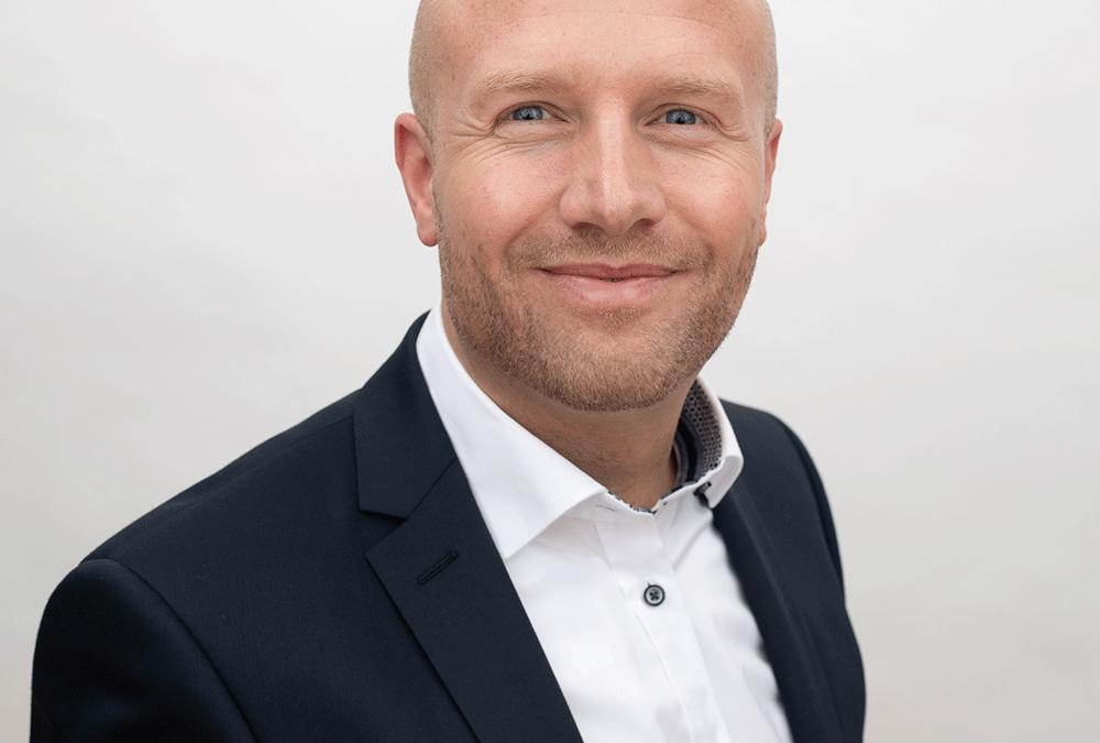 Mødebookeren – firmaets ansigt udadtil. Jannich Rindom